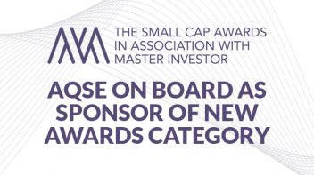 AQSE on board as sponsor of new awards category