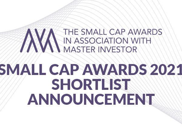 Small Cap Awards 2021 Shortlist Announcement